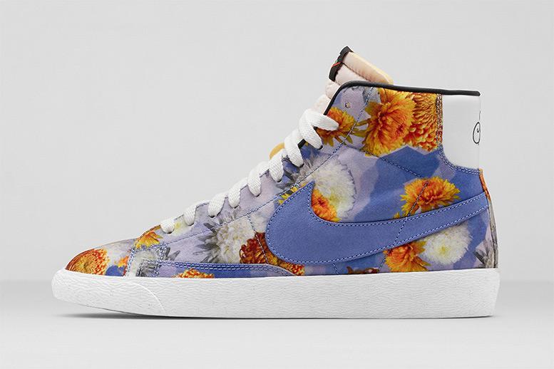 Nike Blazer World Tour Floral Pack 'Chrysanthemum' Chicago