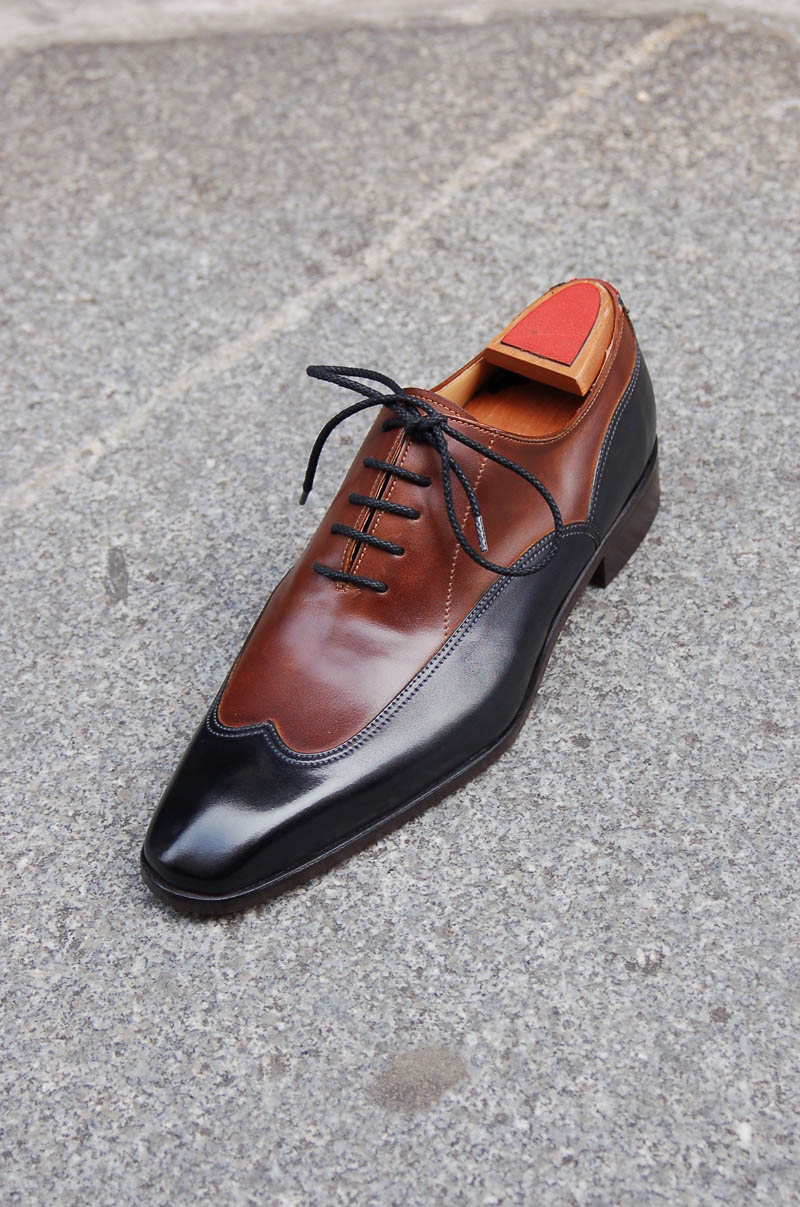 Marc Guyot Two Tone Wingtip Oxford