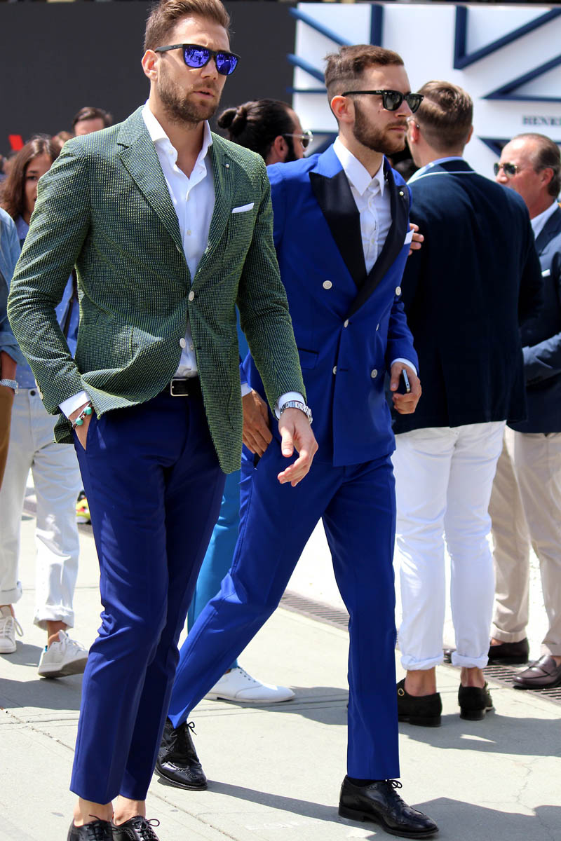 Bold in Blue Men's Fashion blog