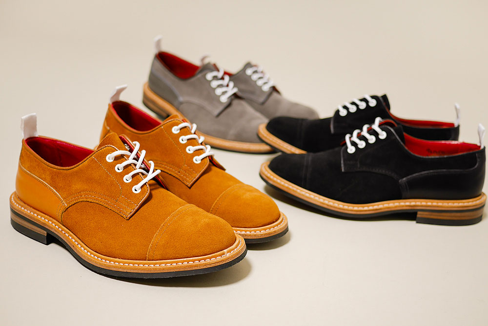 Contrast Laces Tricker's for Haven in Suede