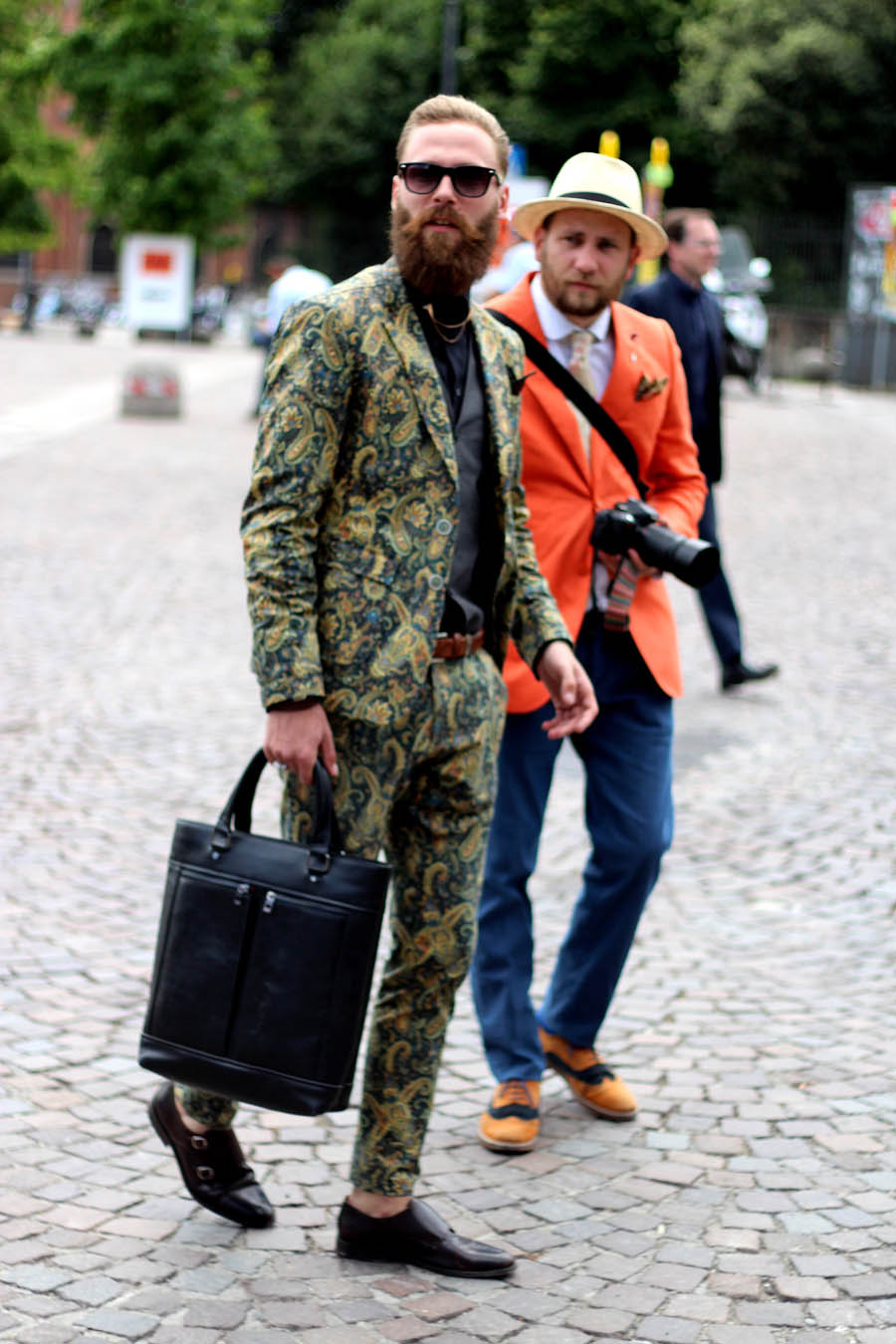 Full Paisley Suit, Pitti Uomo 2014