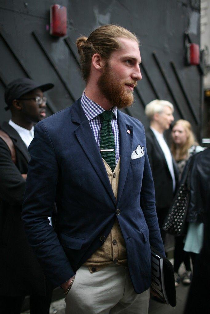 Green Knit Tie streetstyle