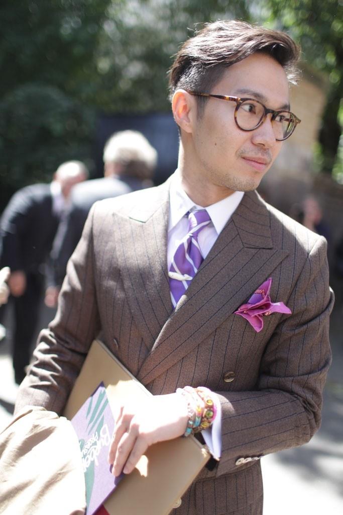 Peak Lapels & Bracelets, men's street fashion