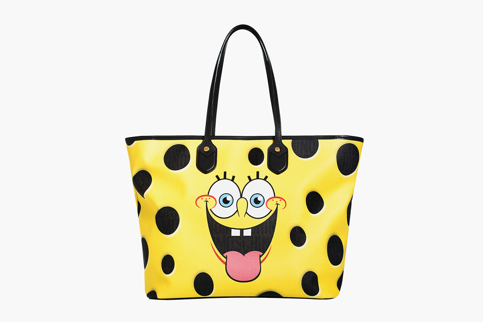 SpongeBob × Moschino bag collection 1