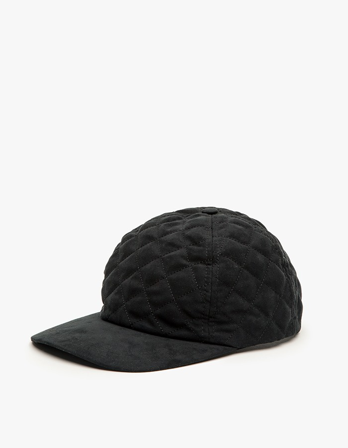 A.P.C Diamond Quilted Snapback 1