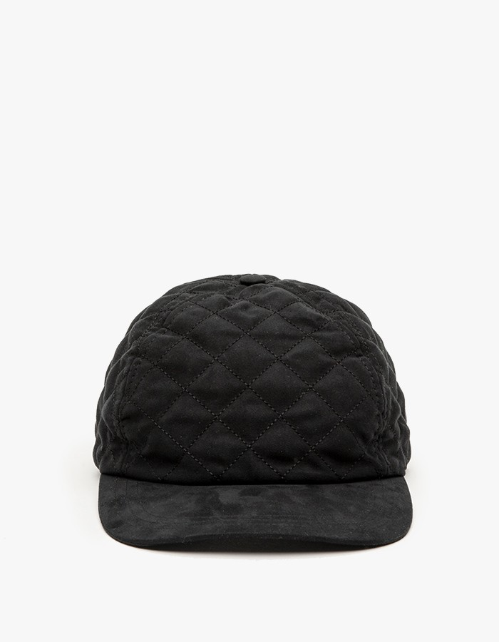 A.P.C Diamond Quilted Snapback 2