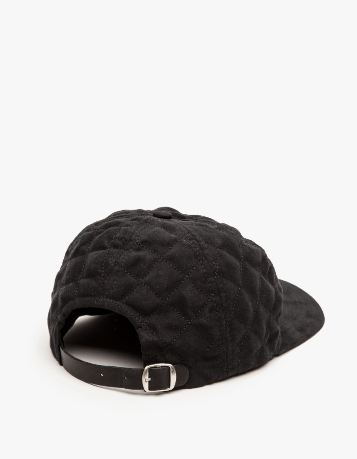 A.P.C Diamond Quilted Snapback 3