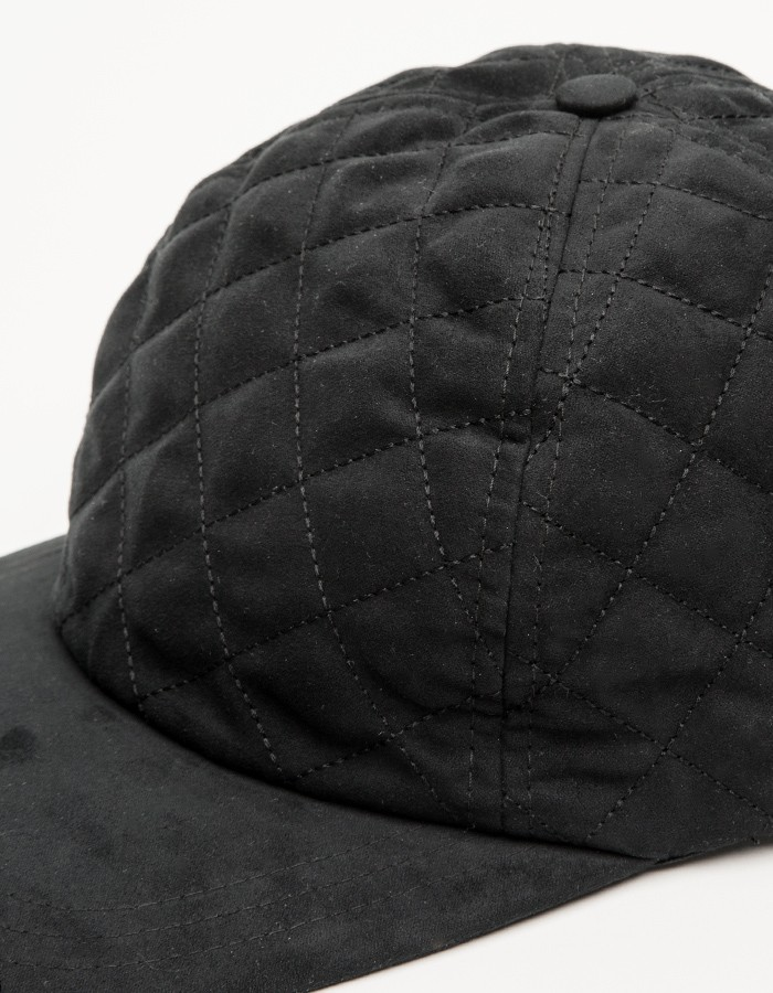 A.P.C Diamond Quilted Snapback 4