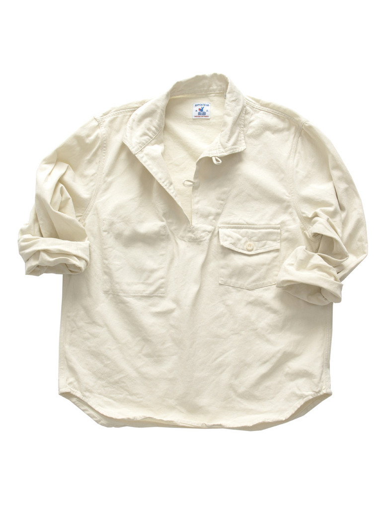 Arpenteur off-white popover shirt
