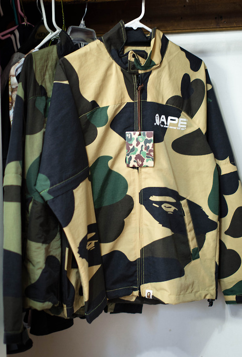 BAPE Lightweight Camo Jacket