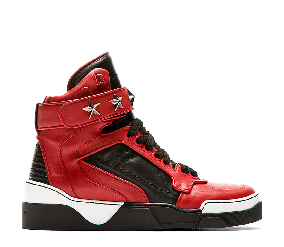 Black & Red 3D Star Sneaker