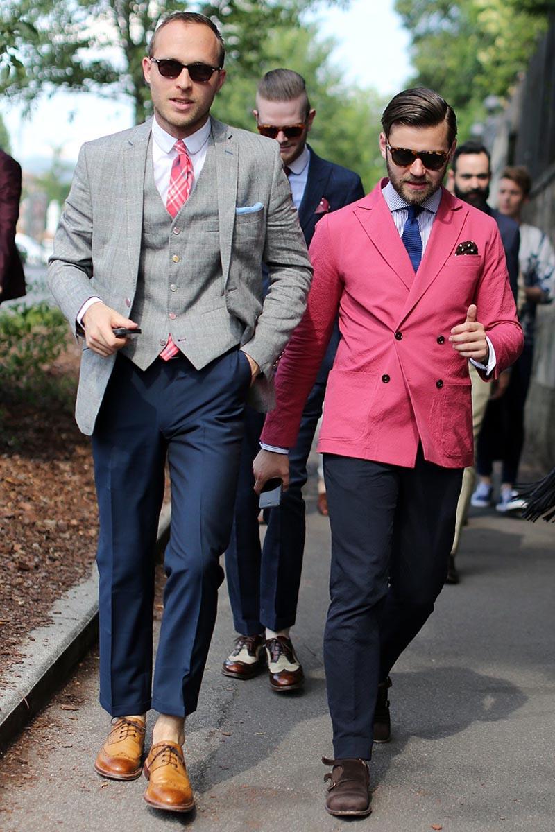 British Tailoring × Italian Colors