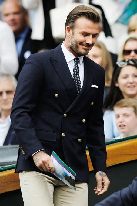 David Beckham Proper Blazer & Peak Lapels
