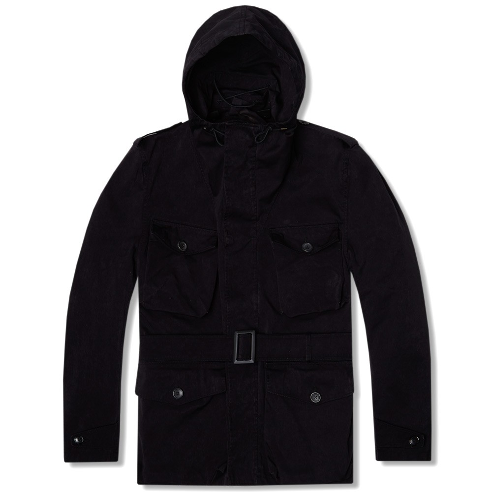 Ten C Snow Smock Collection, Naby Black