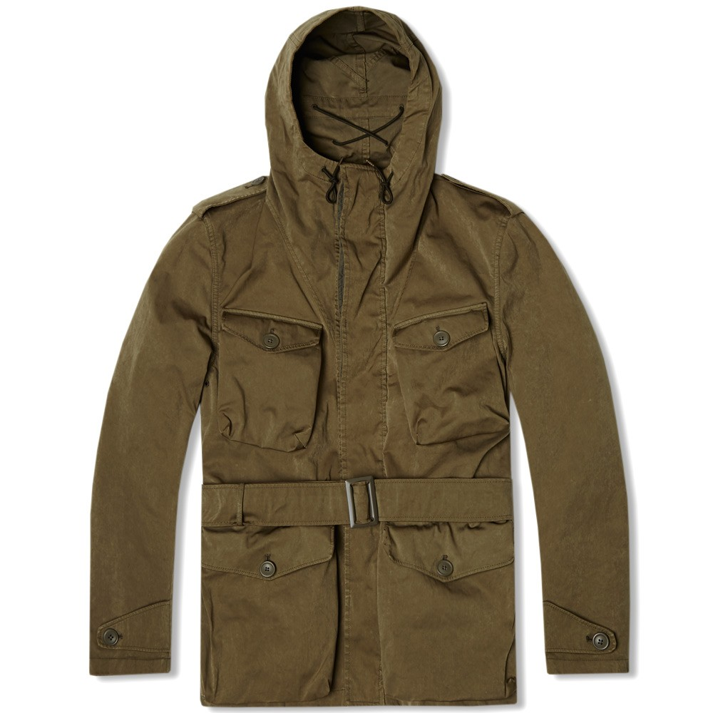 Ten C Snow Smock Collection, Olive