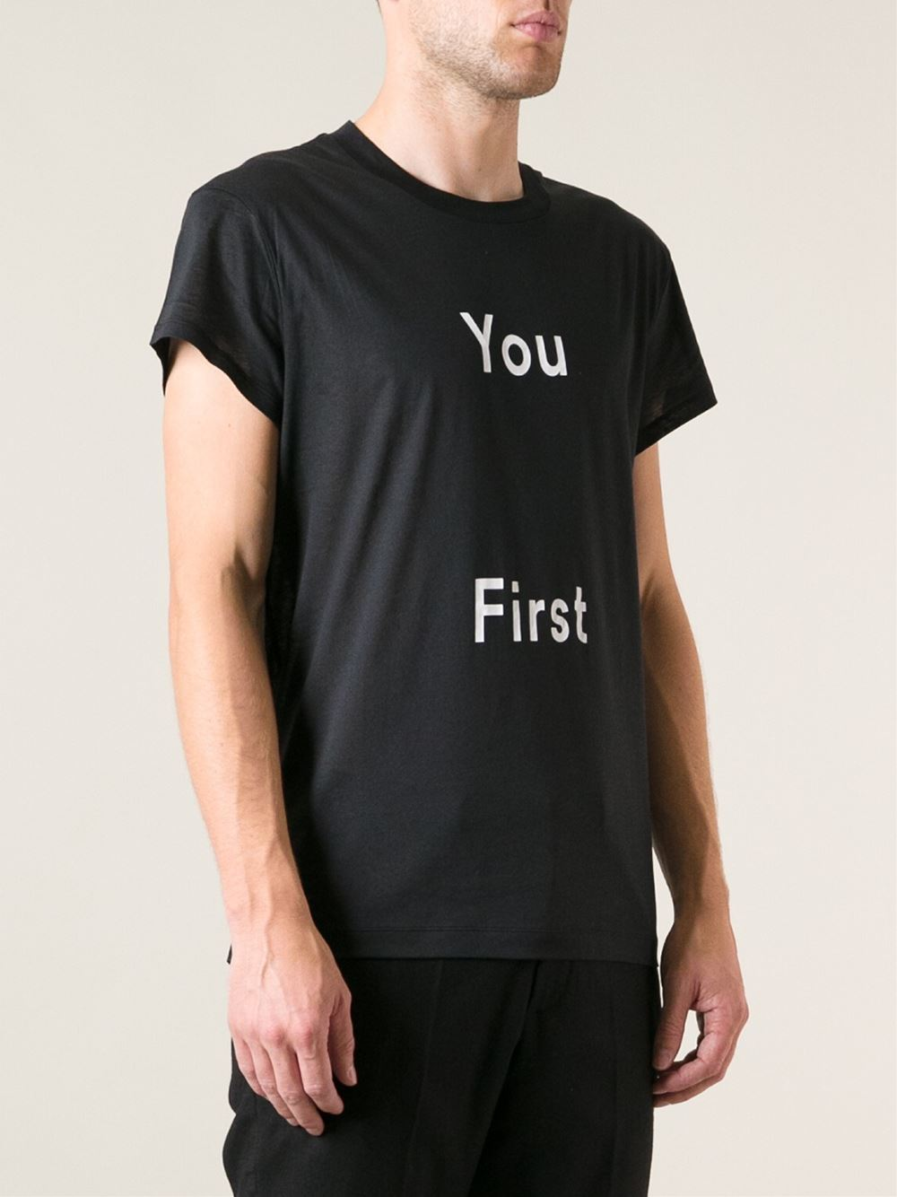 You First ACNE Studio cool shirt 2