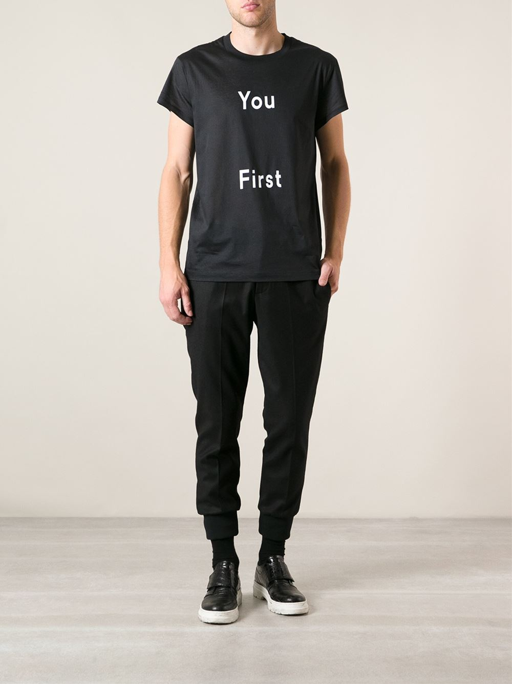 You First ACNE Studio cool shirt