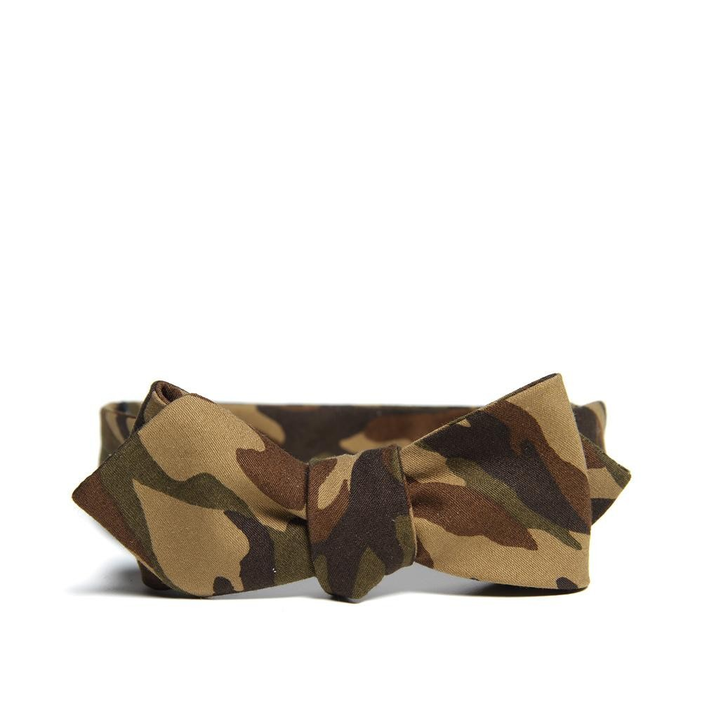 Beams Plus Camo Bow Tie