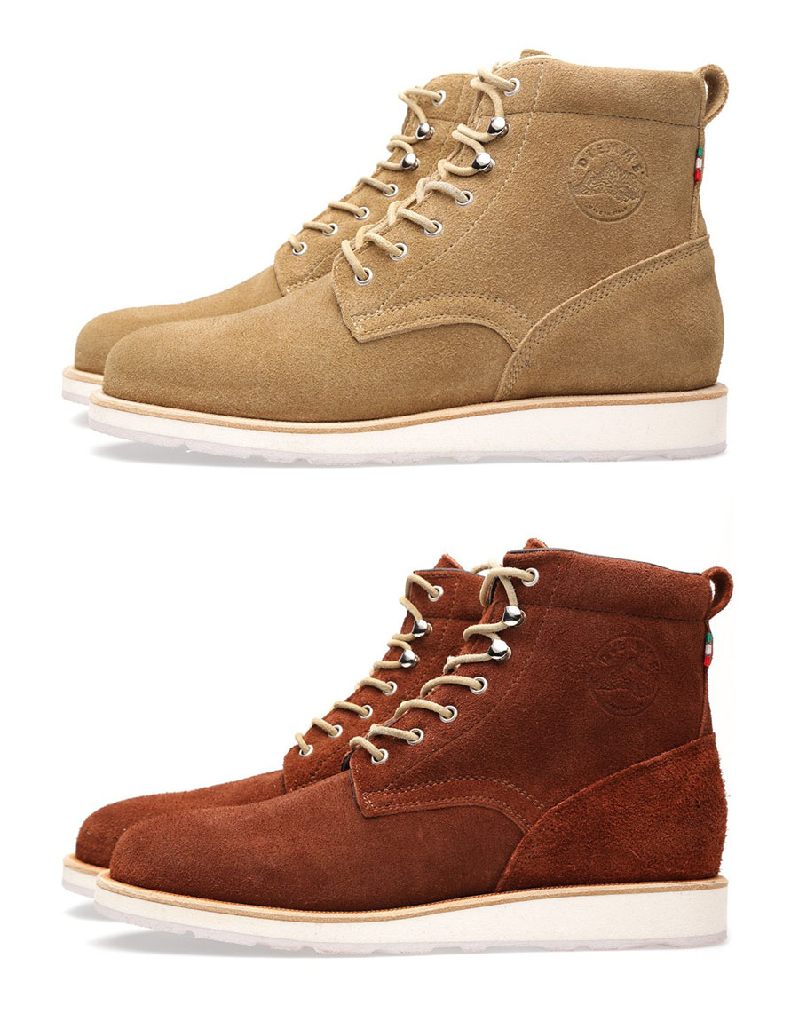 Brick & Maracca Desert Suede Boots by Diemme