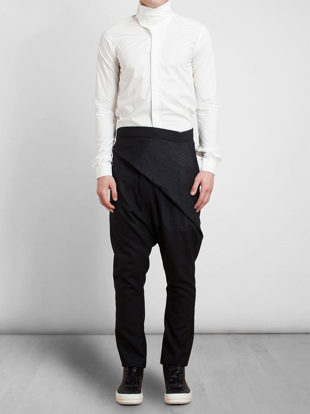 Drop Crotch Wrap Pants 1