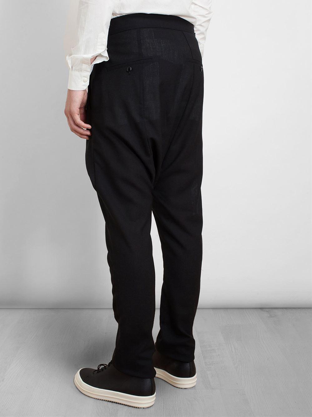 Drop Crotch Wrap Pants 3