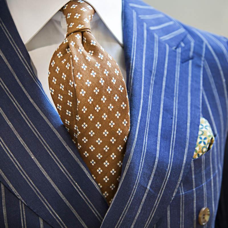 Make a Statement, Chalk Stripe Suit #menswear