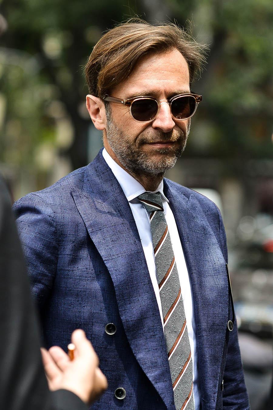 Street Style, Milan - Beard & Fabric
