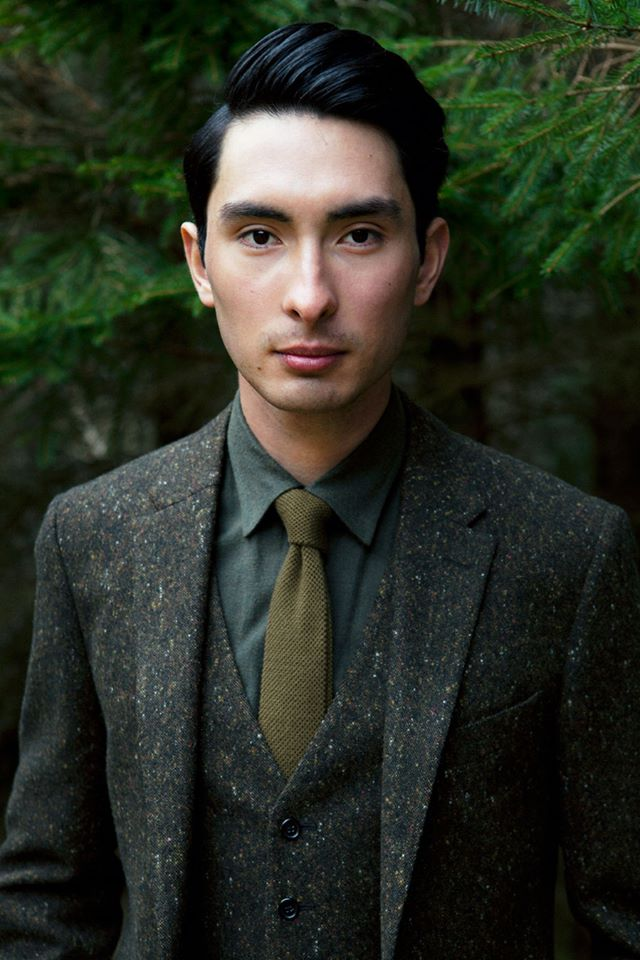 Alex Hua Tian in Gieves & Hawkes