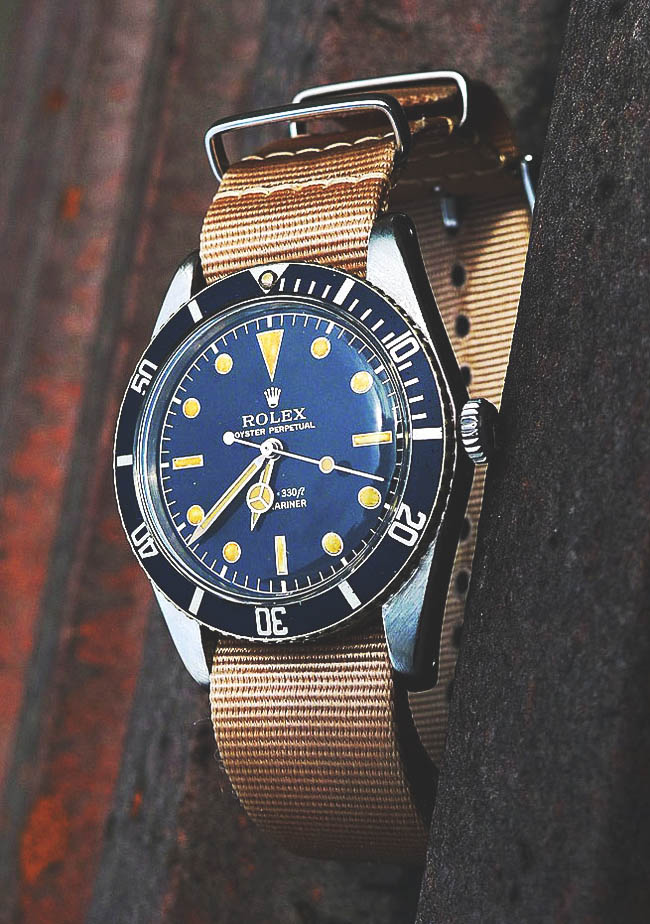 Canvas Oyster Perpetual Rolex, vintage