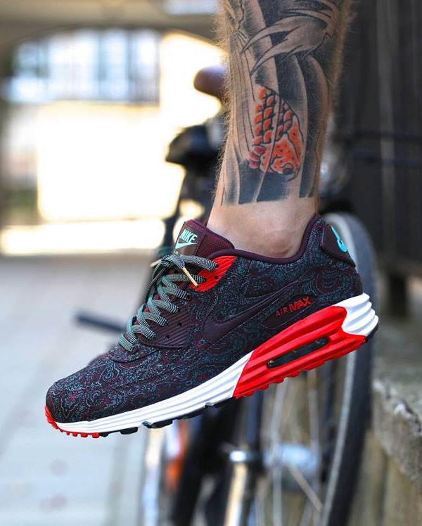 Nike Air Max Lunar90 Suit   Tie in Deep Burgundy c3e529c57dcd