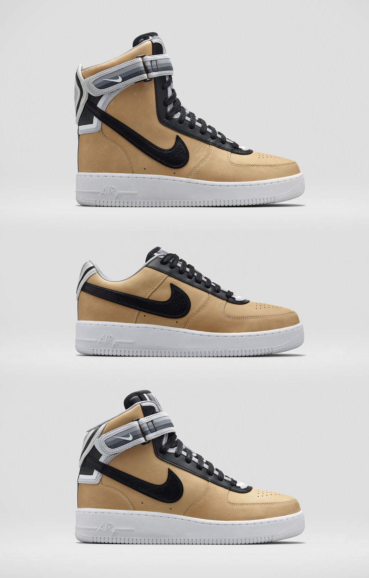 Nike R.T. Riccardo Tisci Air Force 1 Beige Collection