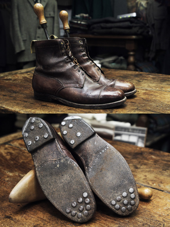 Peal Amp Co British Army Officer Boots Soletopia