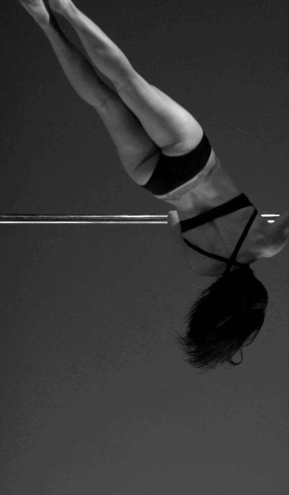 Sarah Scott Pole Dancing in Slow Motion
