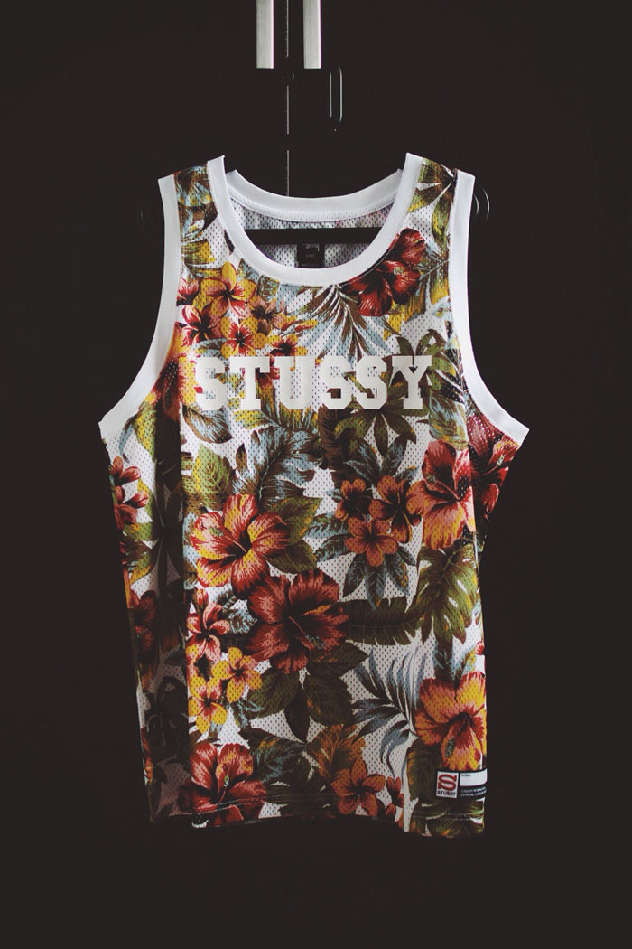 Stussy Floral Mesh Jersey