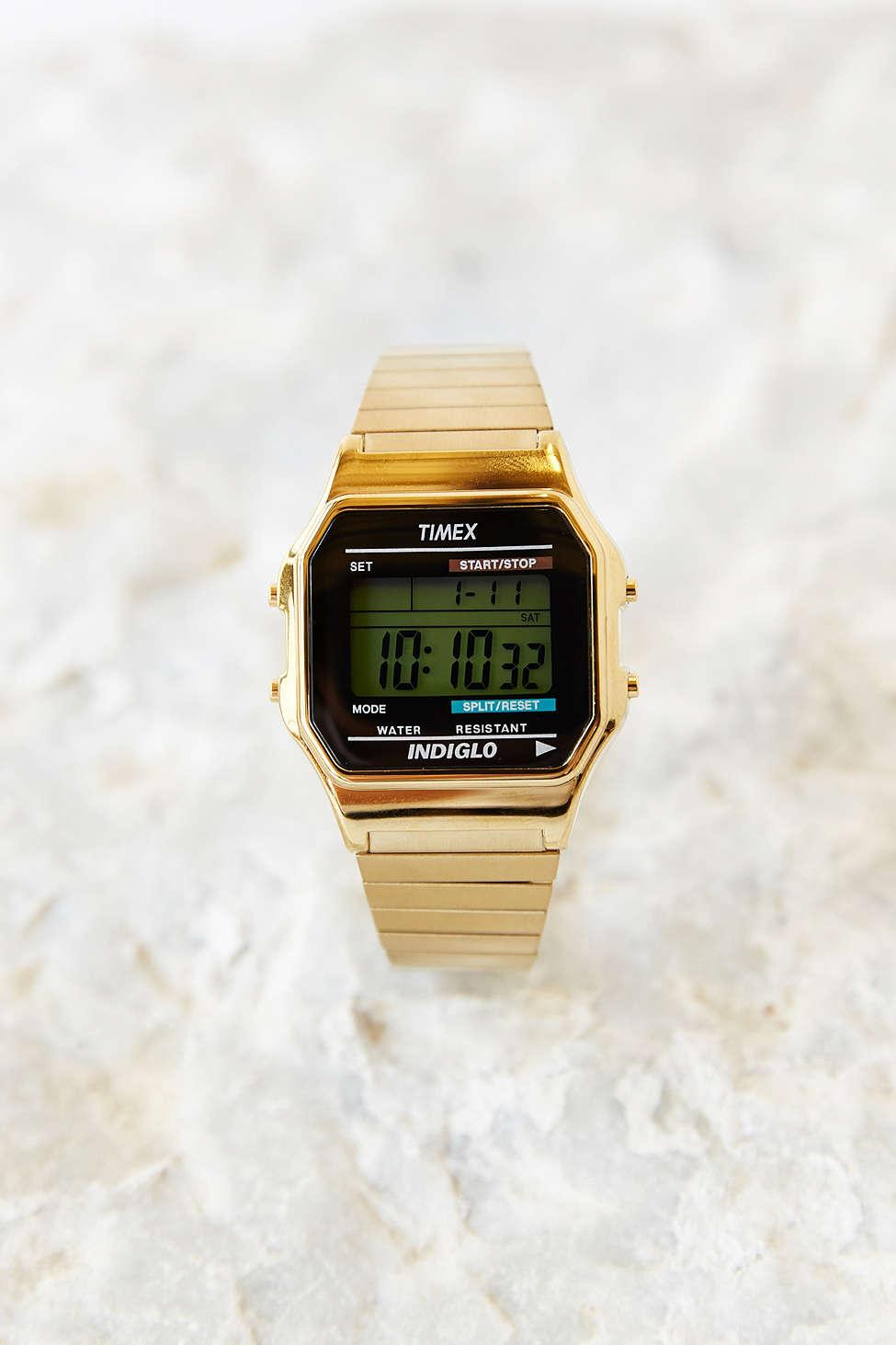 Timex Gold Core Digital Watch