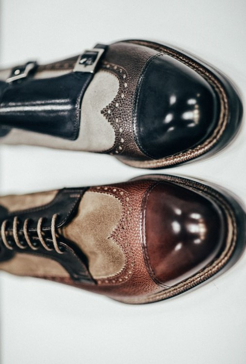 Vintage Shoes Shiny Toecap
