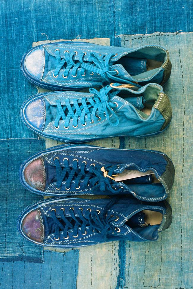 visvim Indigo Sneakers