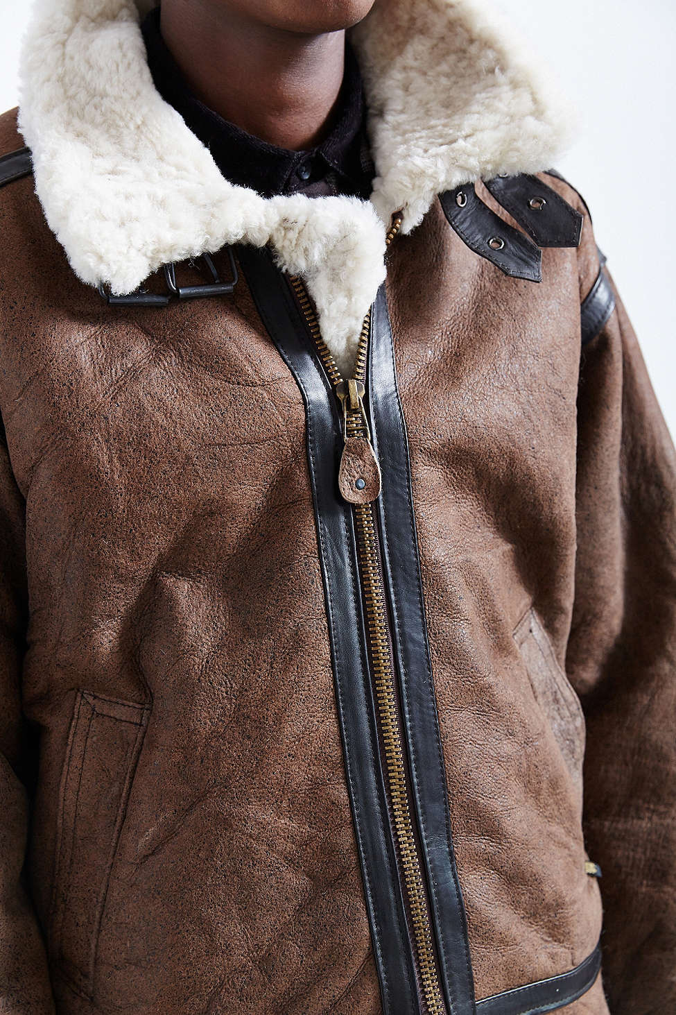 Alpha Industries B3 Sheepskin Bomber