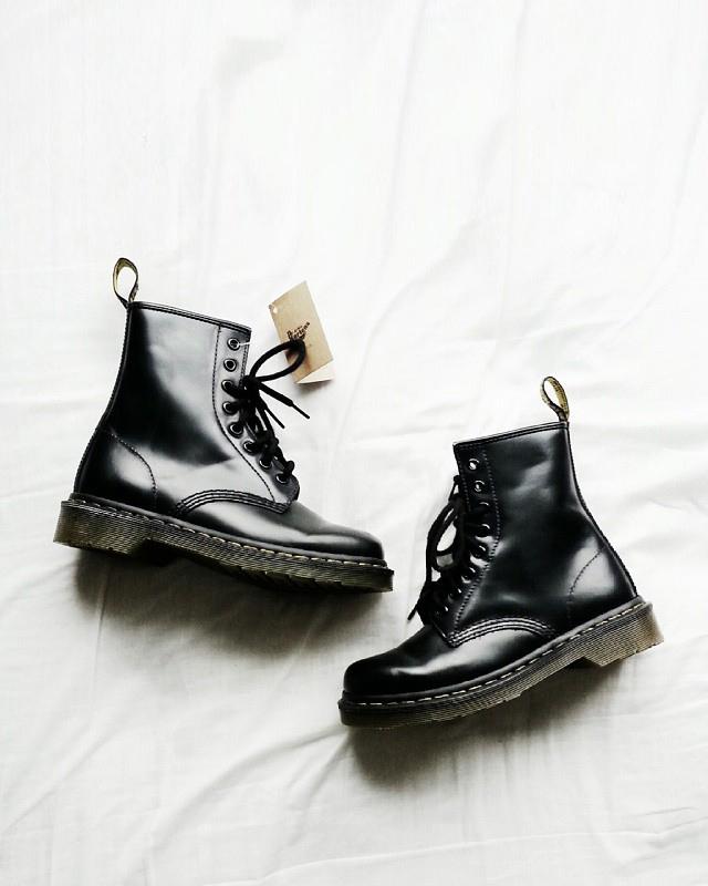 Black Dr. Martens Boots