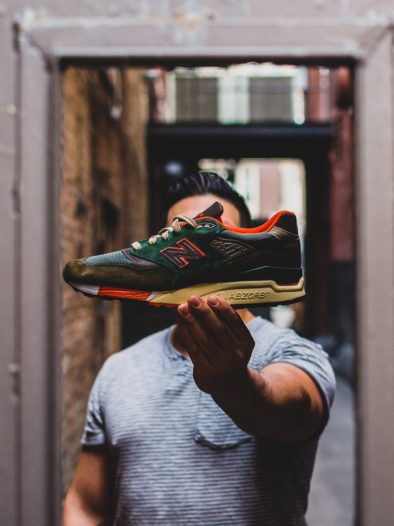 "New Balance 998 × J. Crew ""Concrete Jungle"""