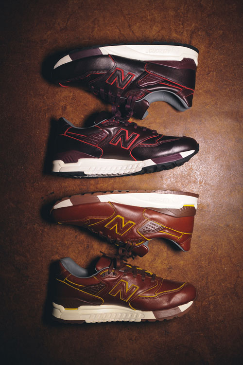 New Balance × Horween Luxury 998