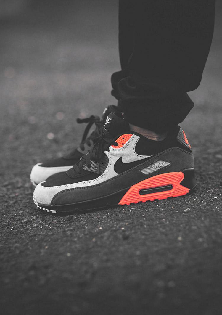 Nike Air Max 90 Black/Ash/Crimson