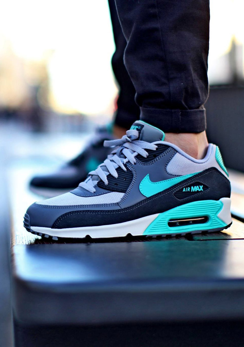 hyper jade nike air max 90 essential soletopia. Black Bedroom Furniture Sets. Home Design Ideas
