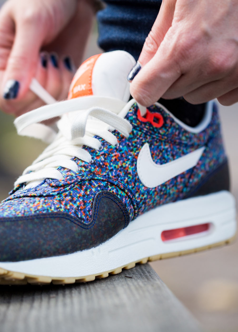 nike air max women u0026 39 s 1 nd liberty pixel