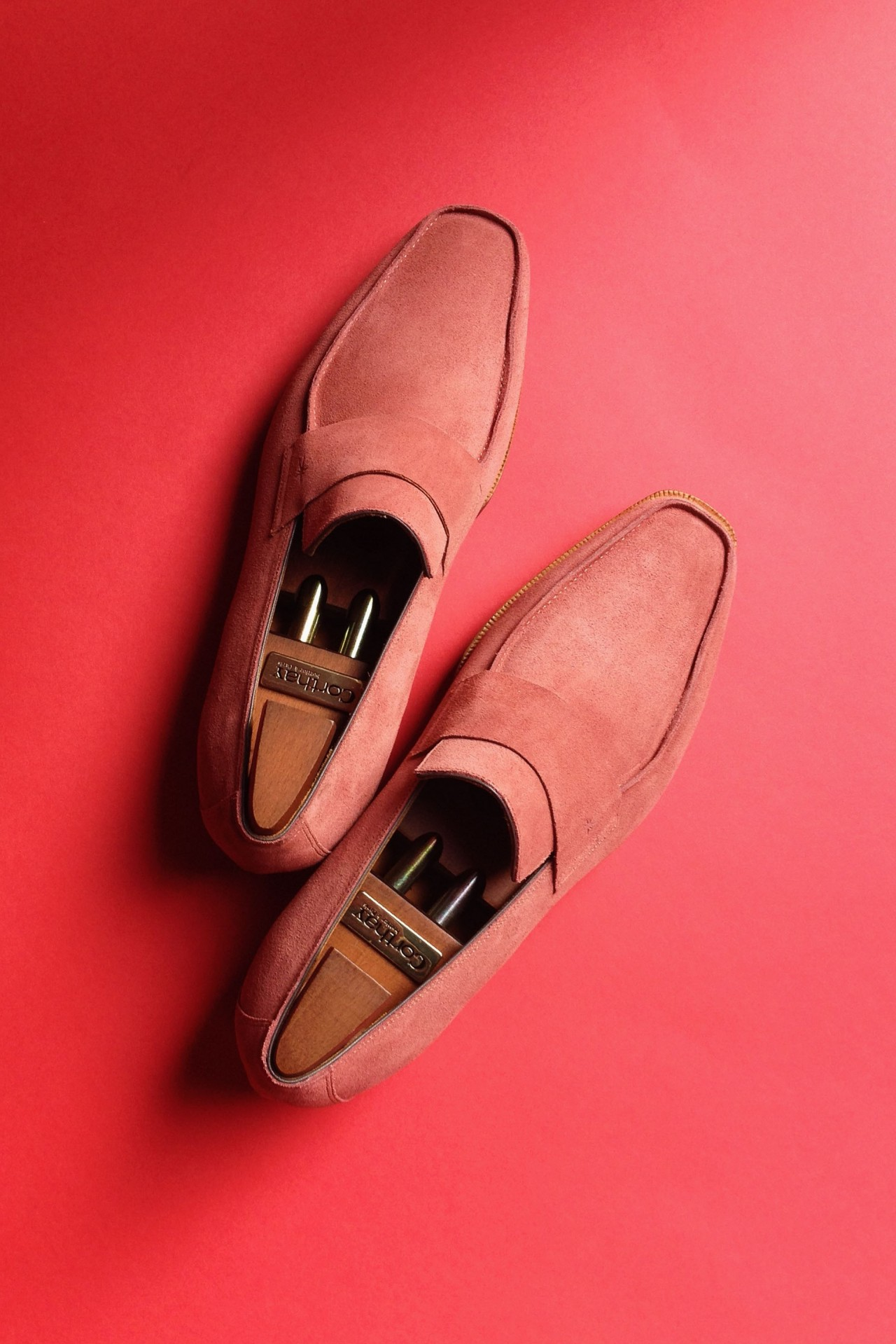 Pierre Corthay Suede Loafer