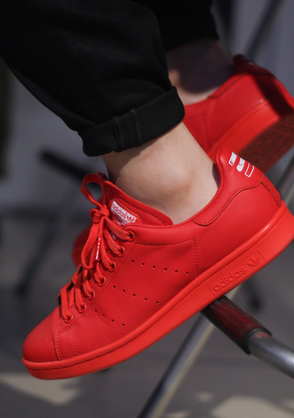 Red Adidas Consortium × Pharrell Williams