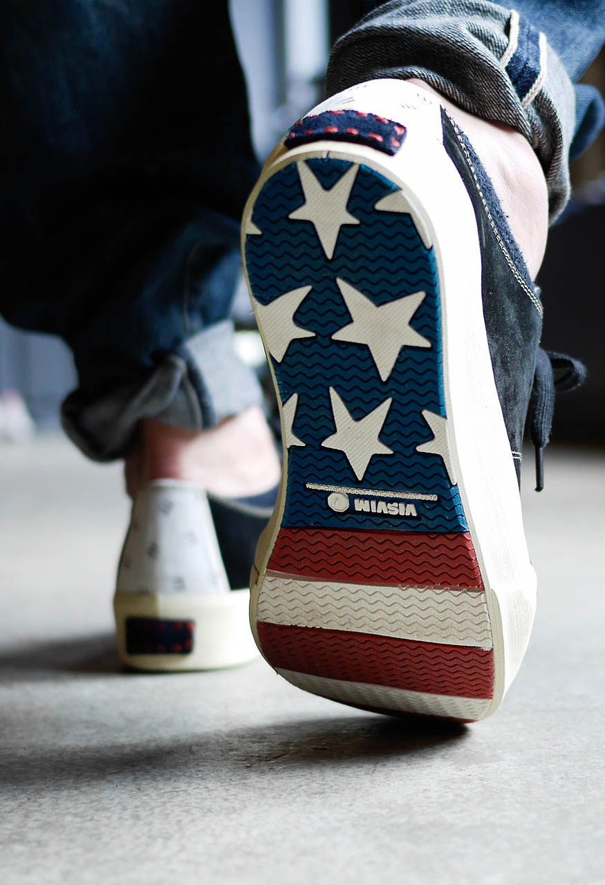 visvim Stars & Stripes Sole sneakers