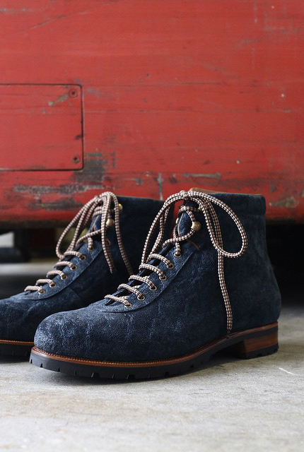 Zonkey Boot Blue Elephant Leather