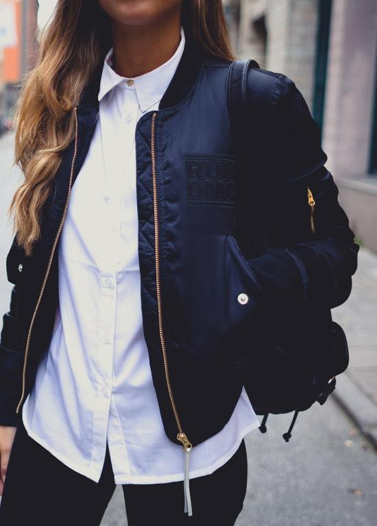 adidas RUN DMC Bomber Jacket on sale women's
