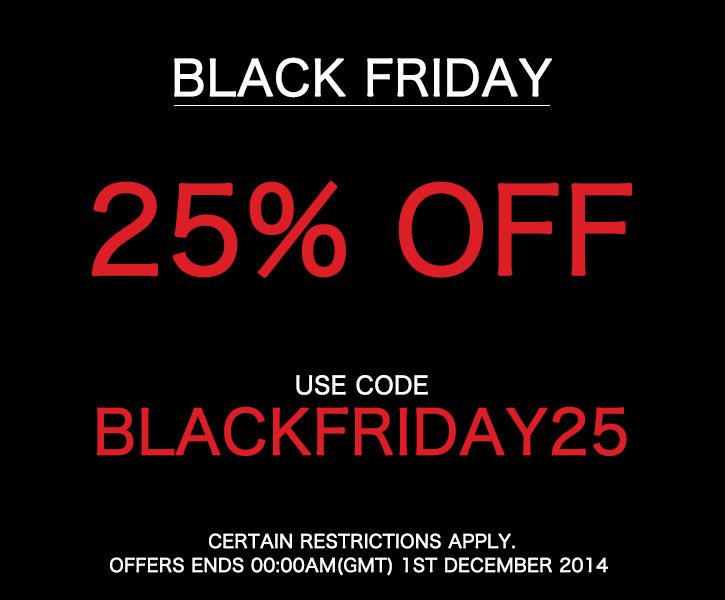 Black Friday END. Clothing Coupon Code